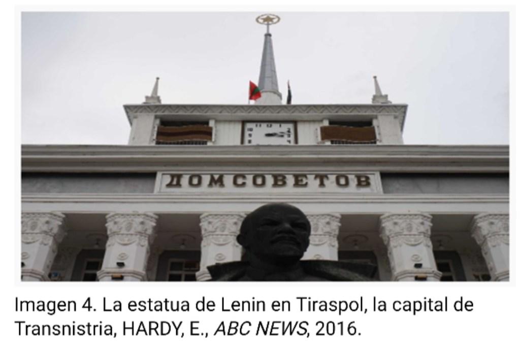 Conflictos congelados: análisis del grado de subjetividad internacional de Transnistria
