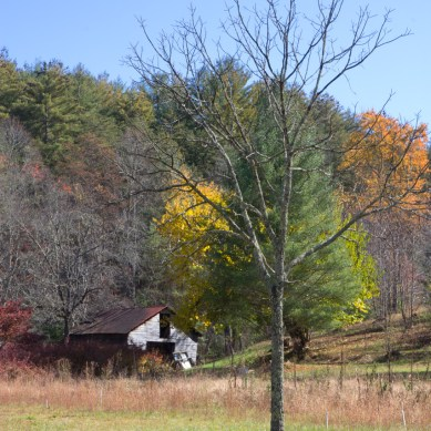 Old barn, Aska Road, Blue Ridge, GA