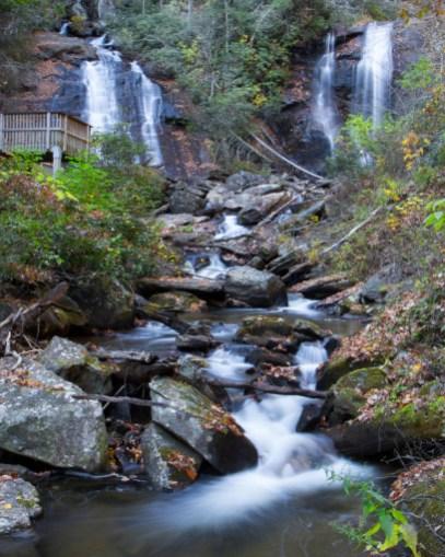 Anna Ruby Falls, Helena, GA © Adel Alamo 2014