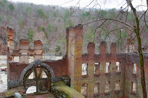 New Manchester Mill Ruins, Red Trail, Sweetwater Creek State Park, Lithia Springs, GA © Adel Alamo 2014