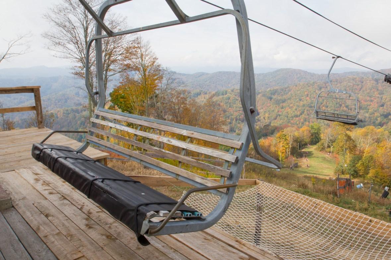 Lift at Wolf Ridge Ski Resort, Mars Hill, NC © Adel Alamo 2015