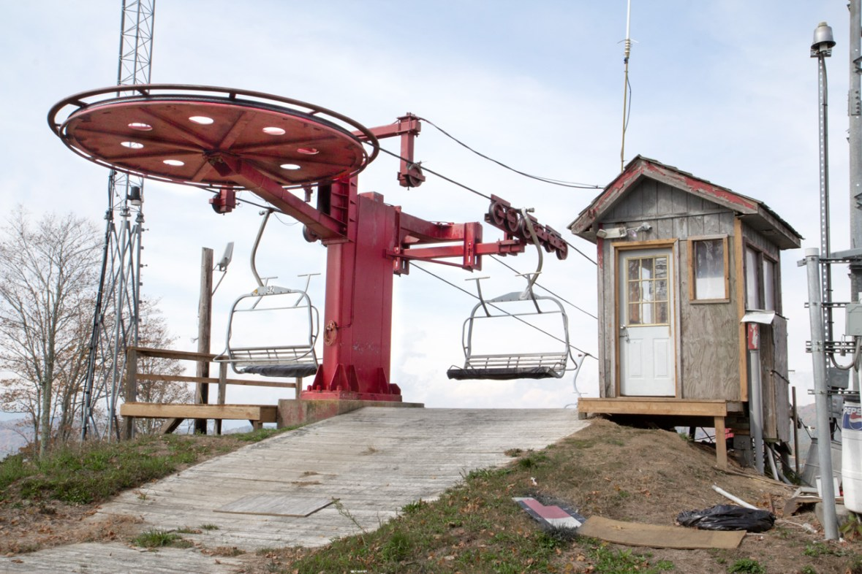 Ski Lift Wolf Ridge Ski Resort, Mars Hill, NC © Adel Alamo 2015