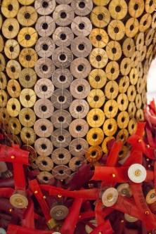 Shotgun Shell Dress - Art Exhibit