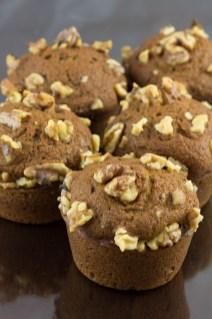 Pumpkin muffins, thekindercook.com
