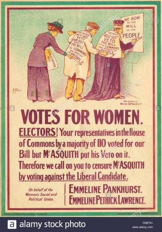 votes-for-women-poster-on-behalf-of-the-wspu-date-1914-G387A1