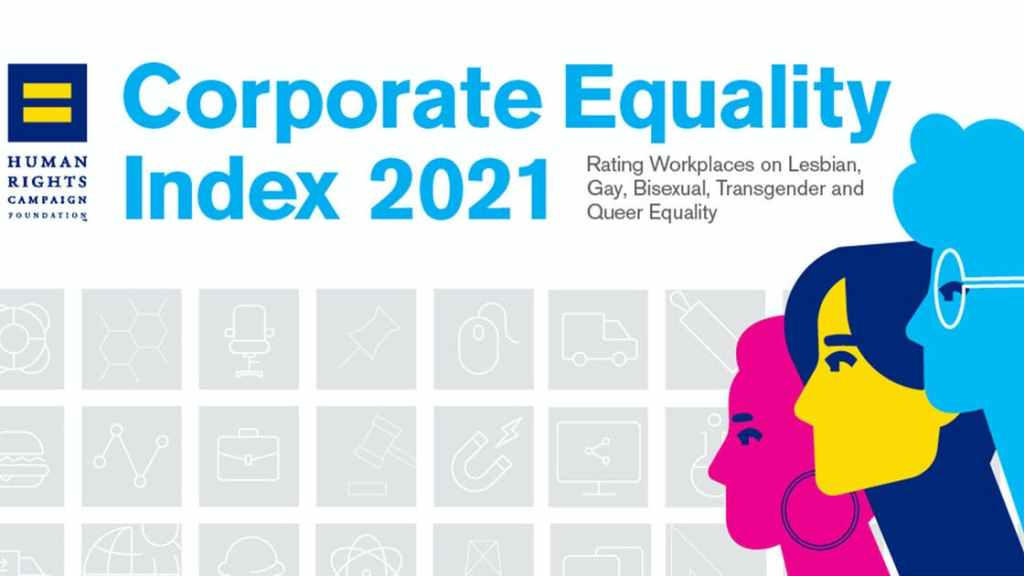 Corporate Equality Index 2021 pride LGBTQ+