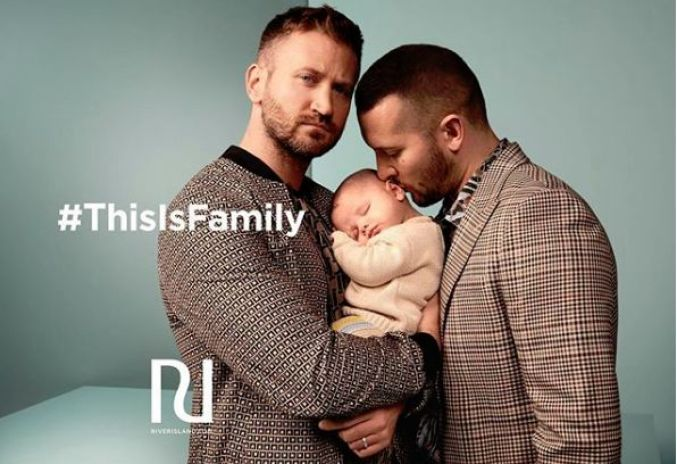 River Island this is family campaign LGBTQ+
