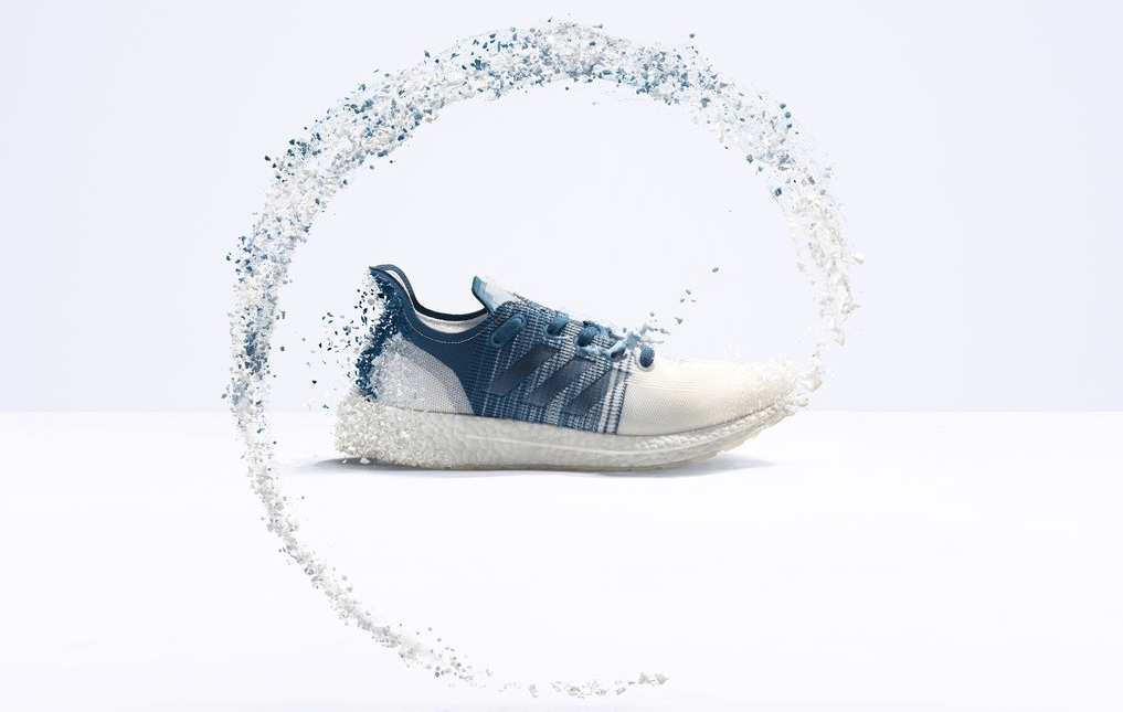 Adidas recyclable running shoe