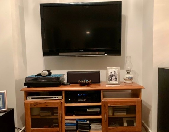 Home theatre TV wall mounted concealed cables Gilles Plains