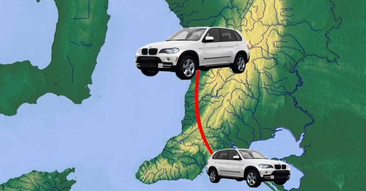 BMWs' annual flight