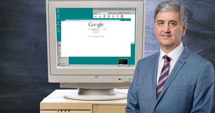 Rob Lucas still uses Netscape Navigator