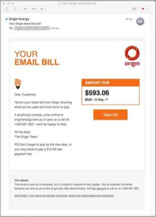 Origin Energy Scam Bill 2
