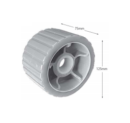 "3"" X 5"" Wobble Rollers - Poly (24mm Bore)"