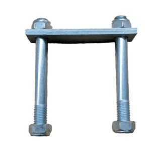 "Shackle Plate Bolt Set - 4""X4"""