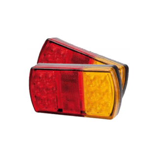 Led Trailer Light - Br207 Series - Pair (No Number Plate Light)