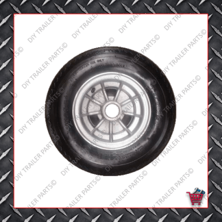 "10"" Integral Alloy Trailer Rim & Tyre"