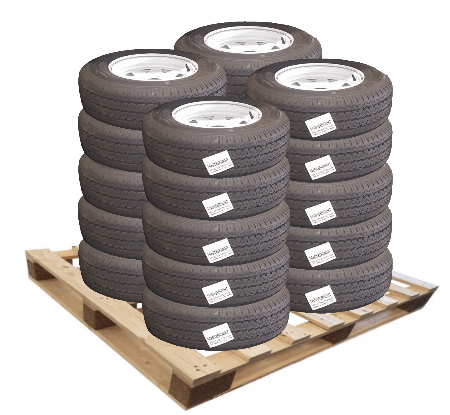 "4.5"" Cotton Reel - Rubber (16mm Bore)"