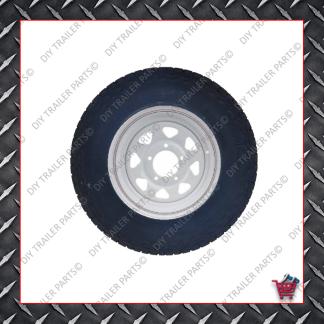"16"" Landcruiser 5 Stud Trailer Rim & Tyre - 245R16O/R"