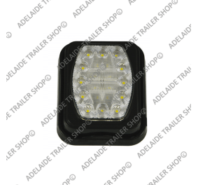 Led Trailer Light - 100 Series - White