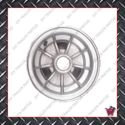 "10"" Integral Alloy Trailer Rim"