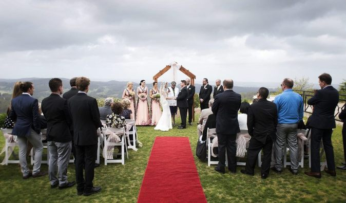 One of the ceremony venues at Mt Lofty House