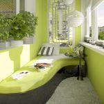Balcon conceput de designerul Olga Cherednikova 3