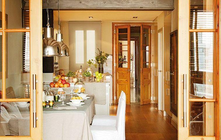 adelaparvu.com despre rustic si modern intr-o casa de la oras Foto ElMueble (5)
