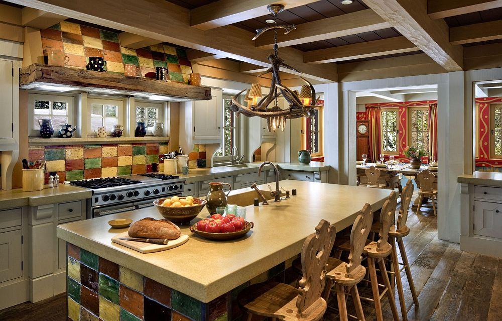 adelaparvu.com despre cabana de munte in SUA, chalet de schi in California, arhitecti John Malick & Associates, Foto David Wakley (6)