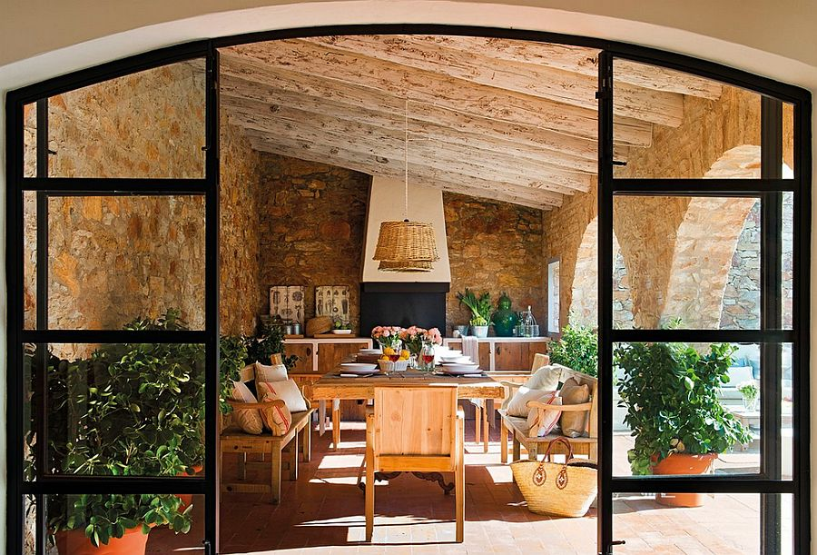 casa e frumoas dar s vezi veranda cu buc t ria de var