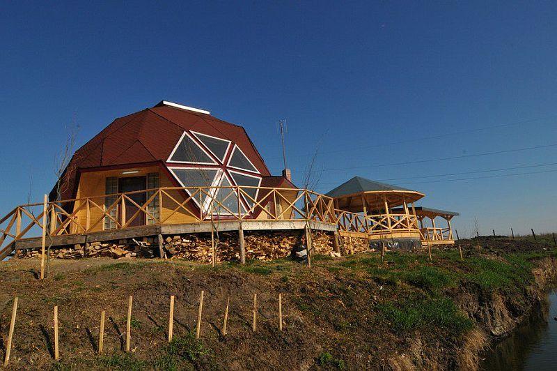 adelaparvu.com despre case tip domuri geodezice, casa dom geodezic, design ing. Alexandru Dinulescu (15)