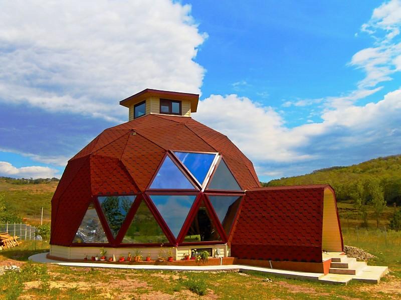 adelaparvu.com despre case tip domuri geodezice, casa dom geodezic, design ing. Alexandru Dinulescu (38)