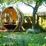 adelaparvu.com despre casute de gradina sferice care se rotesc, design Ornate Garden