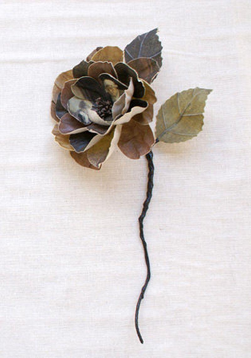 adelaparvu.com despre flori, frunze, pene de bumbac imprimate cu imagini vintage, artist Miranda van Dijk, Puur Anders (31)