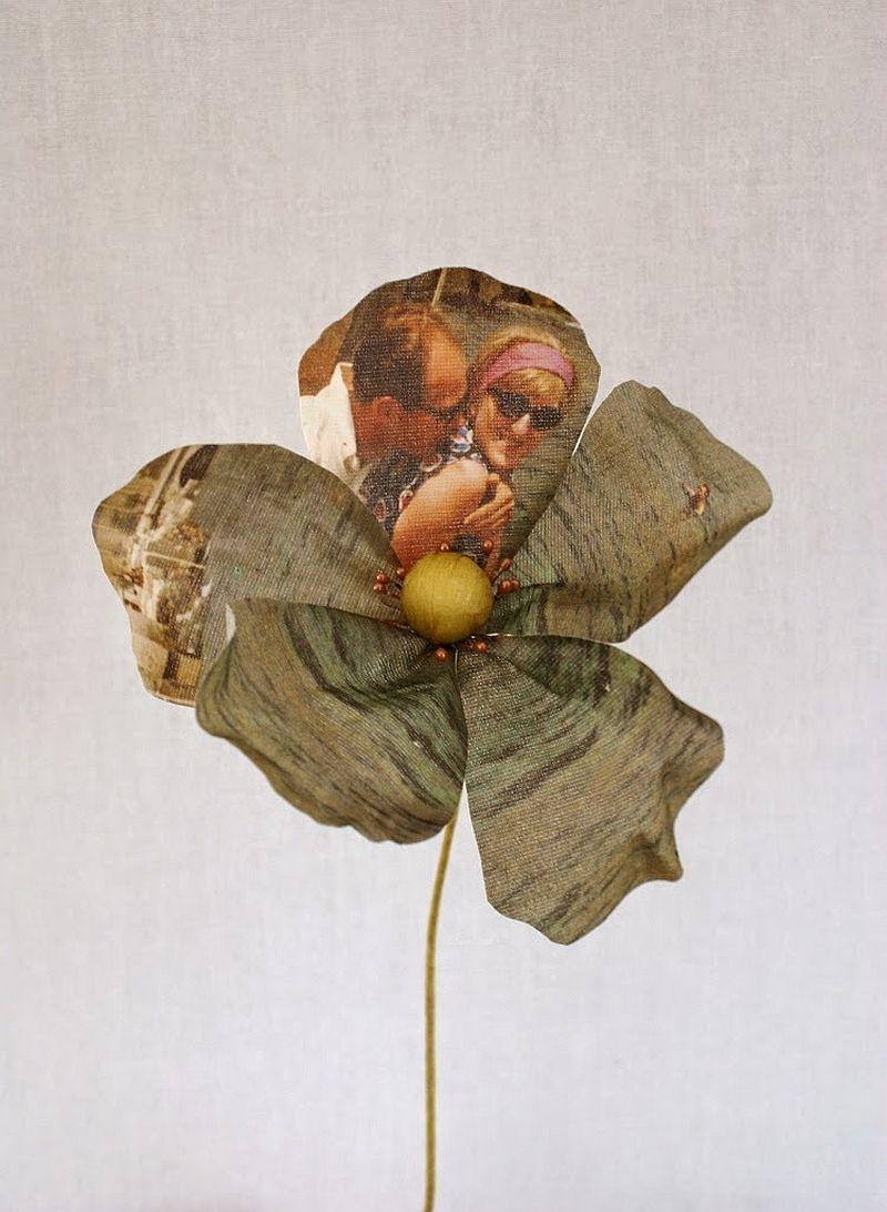 adelaparvu.com despre flori, frunze, pene de bumbac imprimate cu imagini vintage, artist Miranda van Dijk, Puur Anders (42)