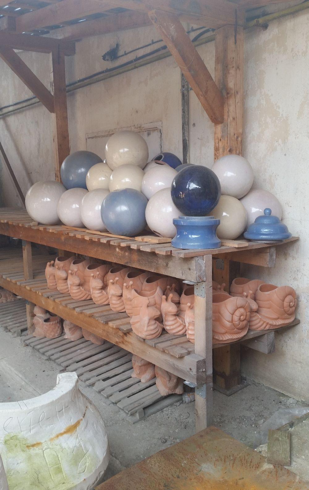 adelaparvu.com despre vase de gradina, ghivece si ornamente din teracota, lut, Terecote Sighisoara Romania (19)