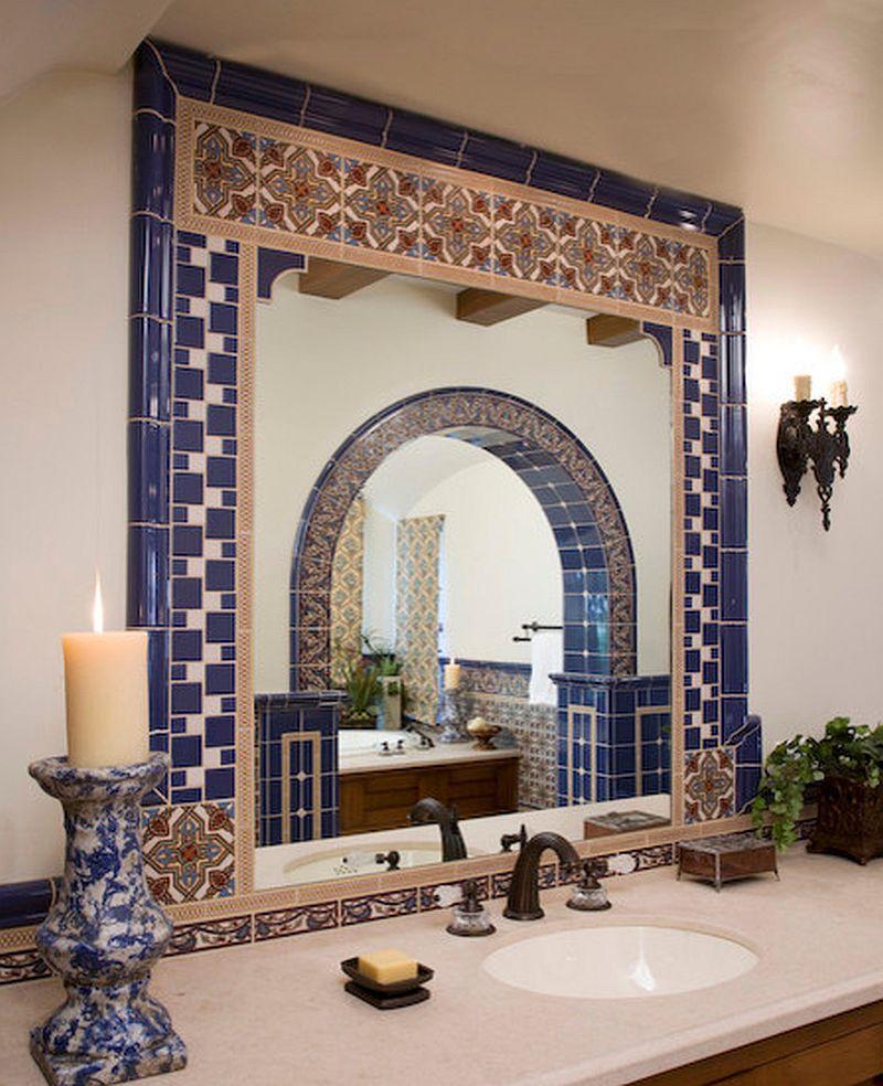 adelaparvu.com despre bai cu placi ceramice pictate, bai in stil mediteranean, Foto Maraya Interior Design 3