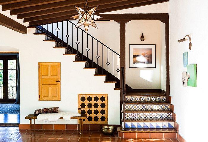 adelaparvu.com despre casa de tip hacienda, casa SUA, casa Katie Tarses, Foto One kings lane (10)