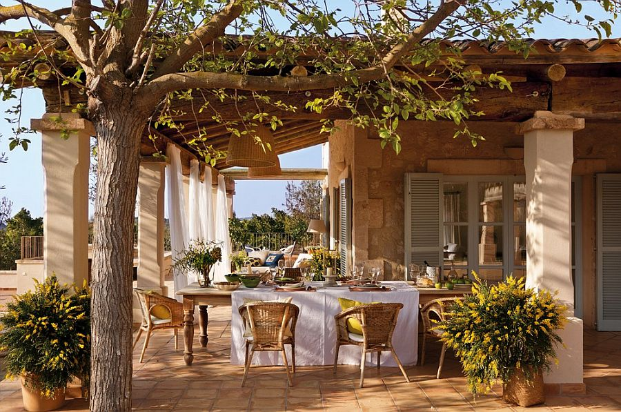 Te cucere te iremediabil decorul natural al acestei case - Casas rusticas mallorca ...