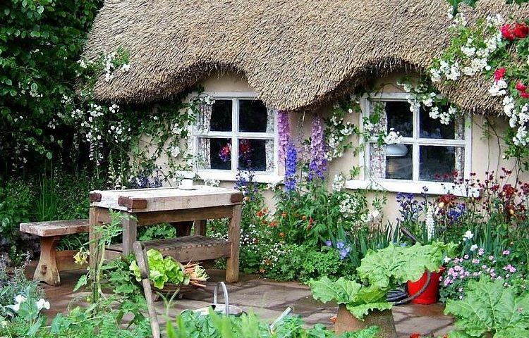 adelaparvu.com despre gradina rustica englezeasca, gradina Anglia, gradina Chelsea Pensioners Garden, designer peisagist Julian Dowle, Foto blog MooseysCountryGarden