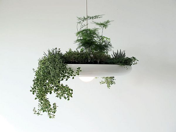 adelaparvu.com despre lampa suspendata cu plante, lampa Babylon, designer Ryan Taylor, Object Interface(6)