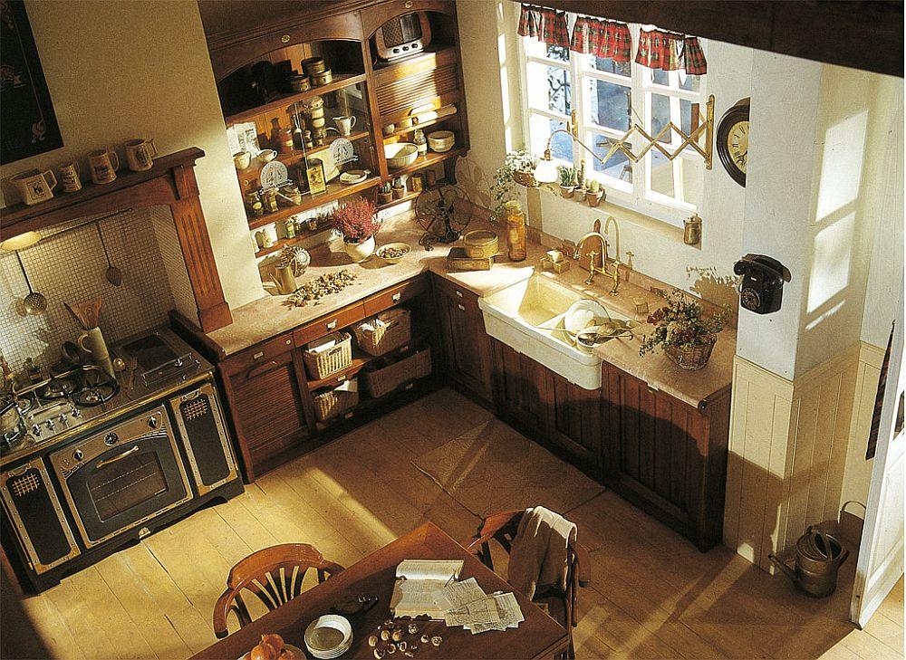 adelaparvu.com despre bucatarii rustice, bucatarii country style, model Hemingway, Marchi Cucine (5)