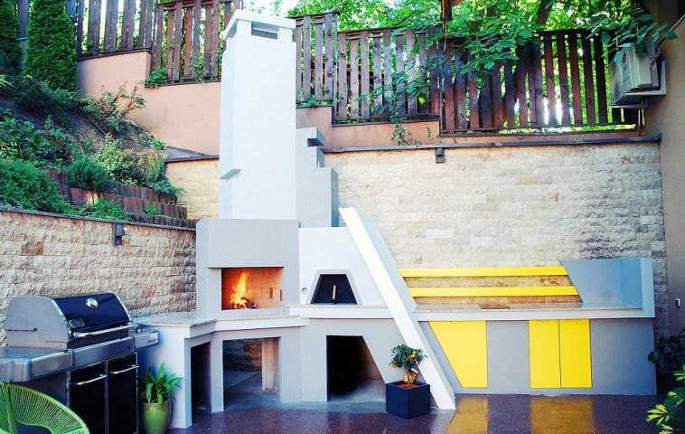 adelaparvu.com despre gratar si bucatarie de vara moderne construite la Cluj, design eGratare (1)