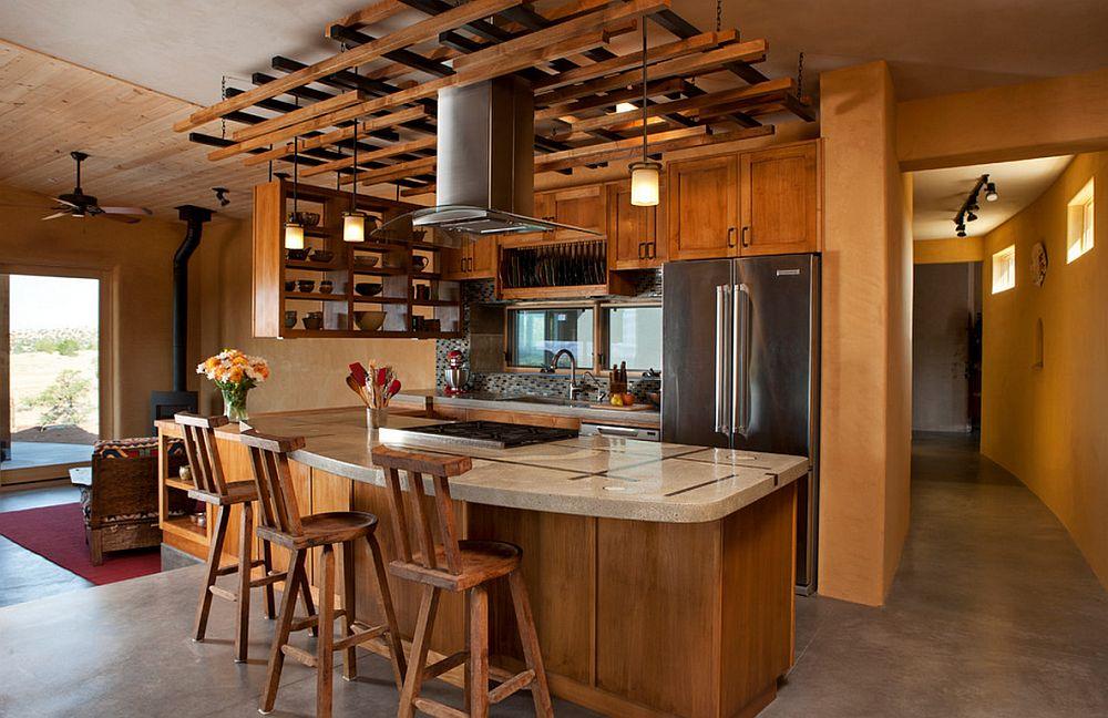 adelaparvu.com despre rafturi suspendate de tavan, design Palo Santo Designs