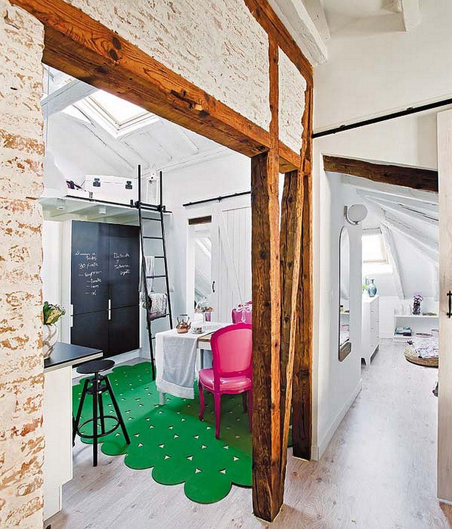 adelaparvu.com despre mansarda boema de 50 mp, design interior Susana Sendin  (9)