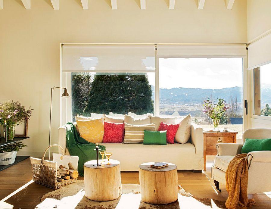 adelaparvu.com despre casa in Pirinei, casa Spania, decorator Patricia Pratmarsó, Foto ElMueble (2)