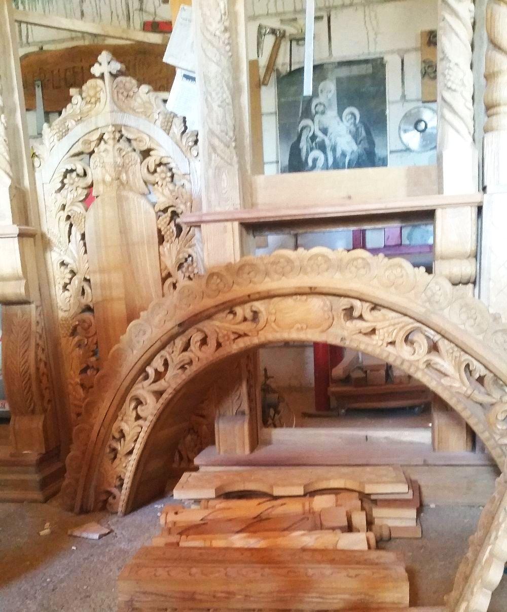 adelaparvu.com despre sculptorul in lemn Ion Moise din Topoloveni (22)