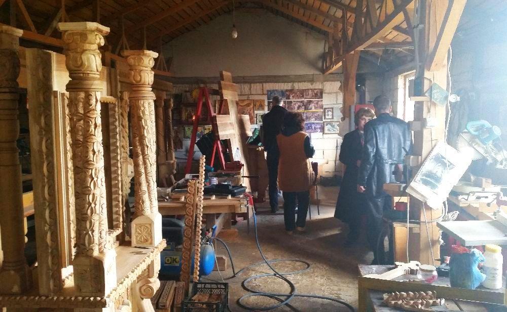 adelaparvu.com despre sculptorul in lemn Ion Moise din Topoloveni (44)