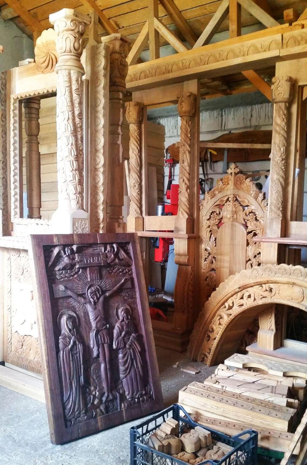 adelaparvu.com despre sculptorul in lemn Ion Moise din Topoloveni (59)