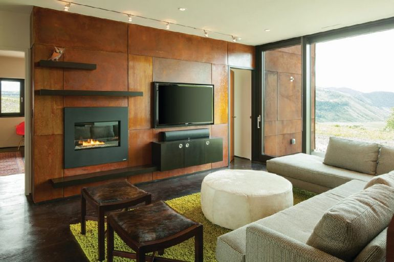 Foto Stephen Dynia Architects televizorul în cameră Unde se pune televizorul în cameră și la ce distanță de canapea sau pat? adelaparvu