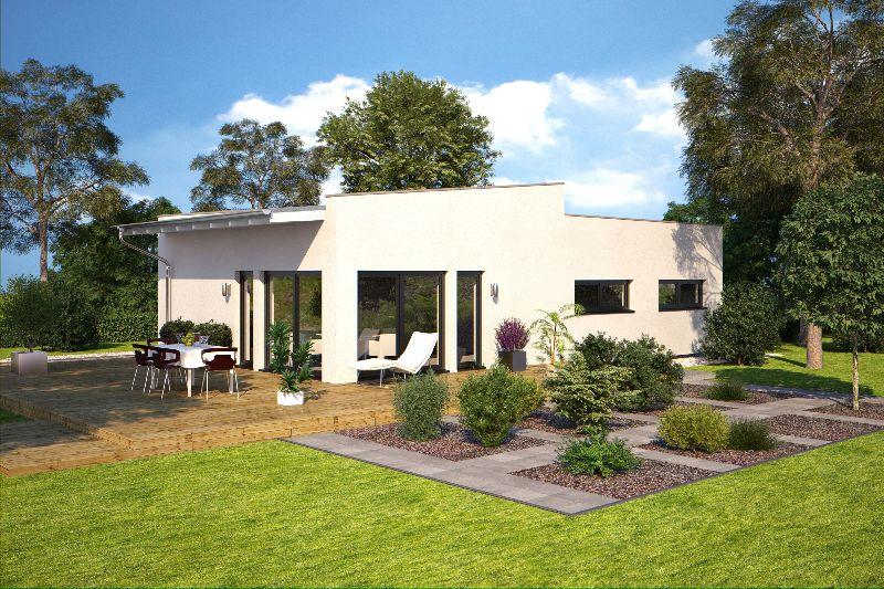 Model casa Hommage 110, Suprafata 131 mp, 4 camere, Proiect Hanlo